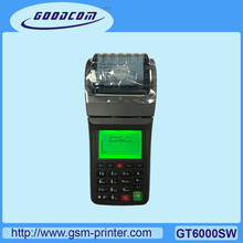 Manufacturer Handheld Ticket Printer GPRS and WIFI Supported For Online Restauarant, Pizza Shop, Grocery store(China)
