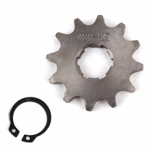 Front Sprocket 420-12T 20mm 420 Size 12 Teeth Sprocket for Motorcycle ATV Dirtbike