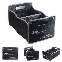 Car Styling R-Line Trunk Foldable Large Capacity Vehicle Storage Box For Passat b7 b6 caddy Polo Golf  4 5 6 7 Skoda Tiguan