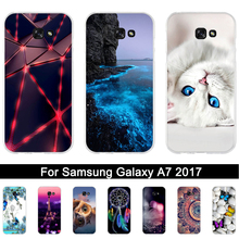 Buy Case Samsung Galaxy A7 2017 Luxury Soft Silicone Back Cover Case A7 2017 A720F A720 fundas samsung 7 2017 Coque for $1.49 in AliExpress store