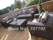New Design vintage rattan furniture sofa set