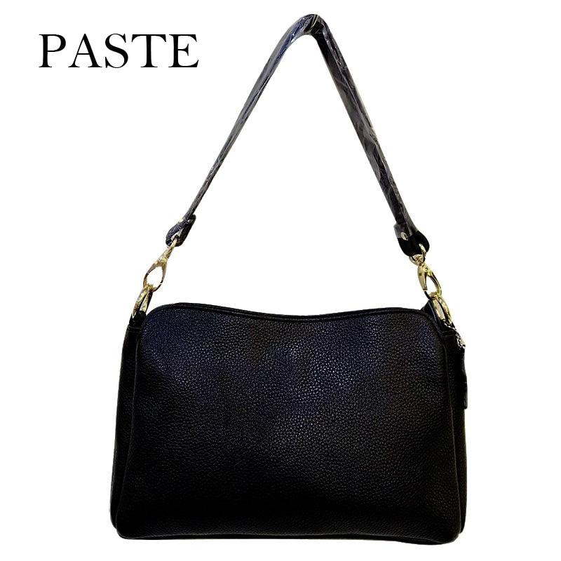 New Arrival Soft Genuine Leather Women Handbag Small Size Cross Square Shoulder Bag High Quality Young Female Crossbody Bag<br>