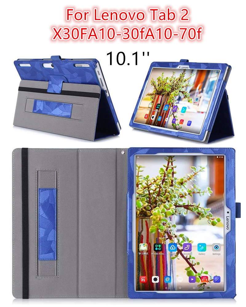 3D print Case for Lenovo Tab2 A10 30F 70F Pu Leather cover case for tab 2 A10-30F A10-70F 10.1 tablet pc protective case stand<br><br>Aliexpress