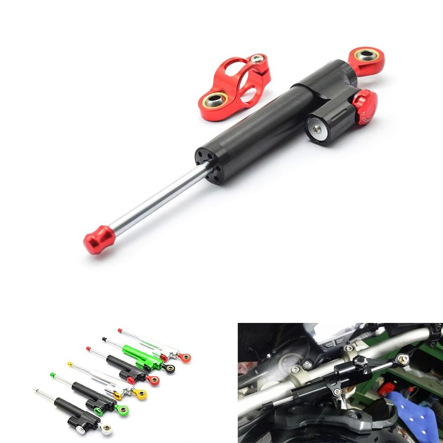 Universal Aluminum Motorcycle balance lever Steering Damper for Honda kawasaki ninja honda goldwing gl1800 bmw r1200gs lc honda <br>