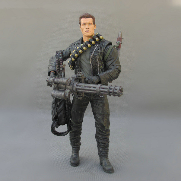 Movie Figure 18 CM The Terminator 2 T-800 Cyberdyne Showdown PVC Action Figure Toy Collectibles Model Toy<br><br>Aliexpress