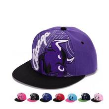 High Quality Cap Adjustable Cotton Hat Printing Cow Snapback Outdoor Sports Flat Gorras Hip Hop Men Women Baseball Cap