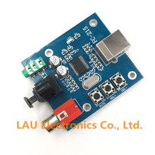 1Pcs PCM2704 USB DAC to S/PDIF Sound Card Decoder Board Module Analog Output(China)