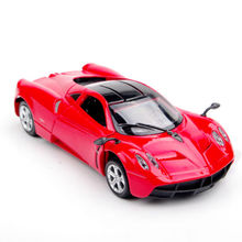1:32 Collection Car Models Red Pagani Zonda Vegicle Car Alloy Diecast Car Model Light And Sound Gift Pull Back Car Model