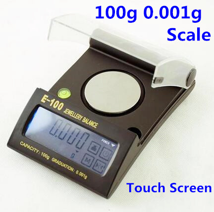 100g 0.001g Touch Screen Balance weighing Digital Weight Scales Gold Sterling Silver Jewelry Scale with backlight 50%off<br><br>Aliexpress