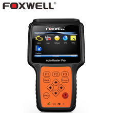 FOXWELL NT614 Multi System Engine Transmission ABS SRS Airbag Crash Data Reset Car OBD2 Automotive Scanner OBDII Diagnostic Tool(China)