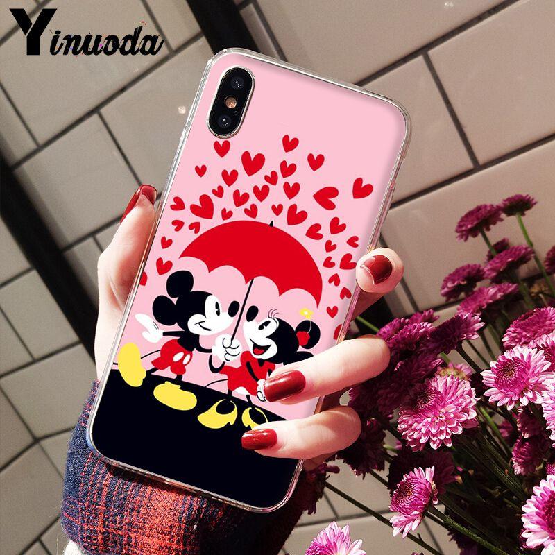 Cute Cartoon Mickey Minnie