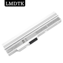 LMDTK New WHITE laptop battery for msi WIND u100 u90 series BTY-S11  BTY-S12 TX2-RTL8187SE 6 cells Free shipping