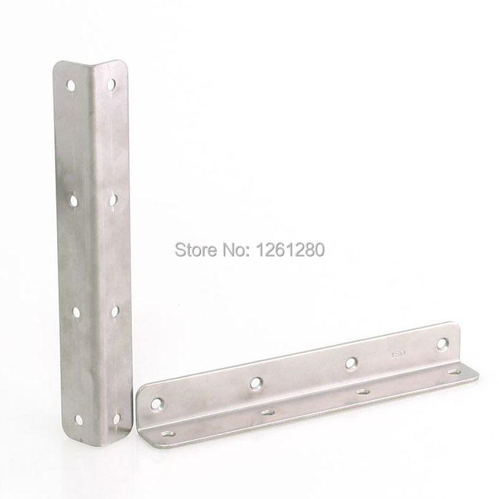 free shipping 150mm metal corner stainless steel furniture fitting thicken Connector  hardware DIY part Reinforcement household<br><br>Aliexpress