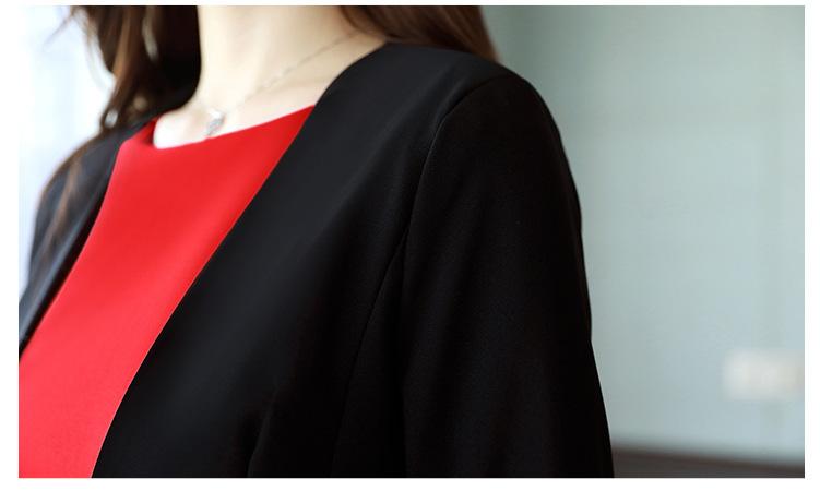Compre Yuxinfeng Otoño Vestido De Oficina De Las Mujeres Vestido De ... 014f1324be35