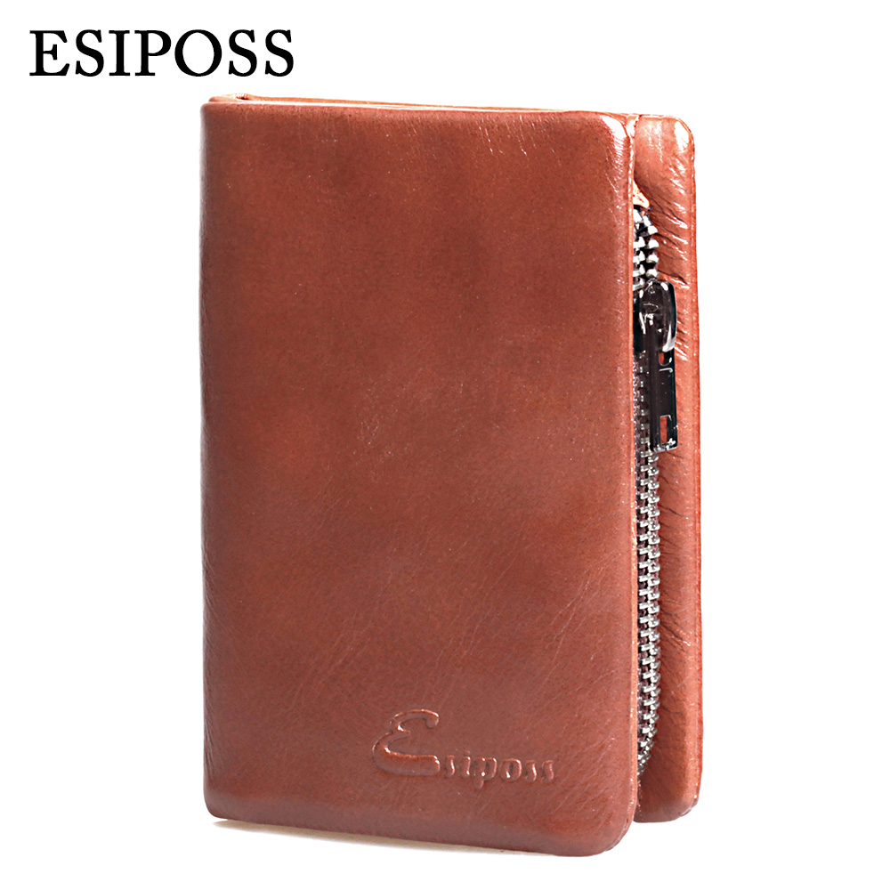 100% Top Quality Genuine Leather Men Wallets Luxury Brand Male Purse Dollar Price Short Style Wallet Men Carteira Masculina<br><br>Aliexpress