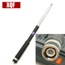 VHF Telescopic Antenna BNC for ICOM V8 V80 IC-U82 for Motorola for Kenwood Walkie Talkie Hf Transceiver(China)