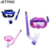 JETTING 1Pc Kids Children Diving Mask Tempered Glass Diving Goggles Swimming Goggles Snorkeling Glass Equipment