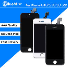 AAA Quality LCD for iPhone 5S 5C 5 4S 4 LCD Display Touch Screen Digitizer Assembly Replacement for iPhone 5S LCD Screen
