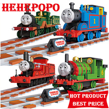 2017 Direct Selling New > 8 Years Old 800+ Pecs Big Size Diy Early Educational Train-shaped Micro Building For Nanoblocks Toy