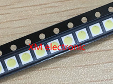 100pcs High Power 3528 SMD LEDs Diodes Television Backlit Super Bright Diodo SMD LED 1210 3528 1W 100LM Cool White TV Backlight(China)