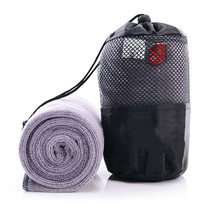 Portable Quick-drying Towel Popular Beauty Microfibre Towel With The Bag Outdoor Sports Yoga Camping Travel Towels(China)