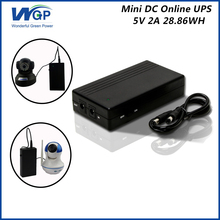 portable 5V ups uninterruptible power supply lithium battery ip camera cctv 5V 2A mini ups(China)