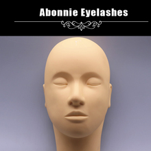Professional Mannequin Training Head For Eyelashes Extension Practice Makeup & Face Painting
