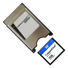 128MB 256MB 512MB 1GB 2GB CompactFlash CF card with PCMCIA adapter Memory card for Car MP3(China)