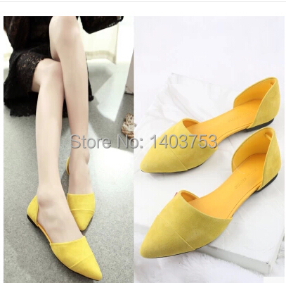 Small Yard 31-33 Autumn Shoes Women Pointed Toe Flat Shoes Large Size 40-43 Sapatos Femininos<br><br>Aliexpress