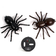 New Novelty Practical Jokes Remote Control Machine Animal Plastic Bionic Spider Toys For Boys Prank Funny Gadgets Birthday Gift
