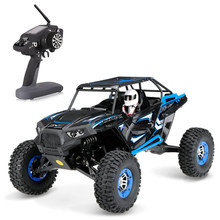 RC Vehicle Wltoys 10428-B 1/10 2.4G 2CH 4WD 30km/h Electric Brushed Off-road Rock Crawler w/ LED Lights RTR RC Climbing Car