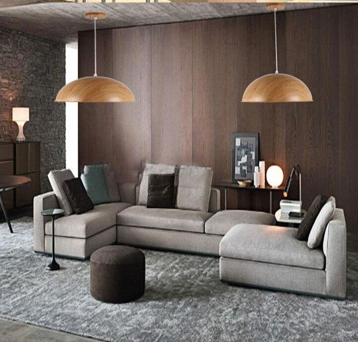 European Bar restaurant industrial lights studyroom chandelier wooden color grain single-head design<br><br>Aliexpress