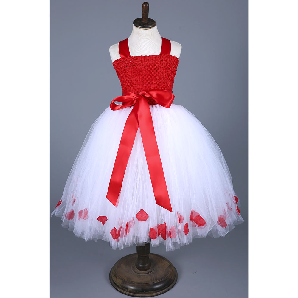Christmas Costume Girls Tutu Dress Festival Photo Props Toddler Baby Clothing Vestidos Children New Year Party Tutu Dresses<br>