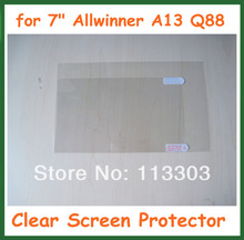 "5pcs Clear LCD Screen Protector Protective Film for 7 inch Tablet PC 7"" Allwinner A13 Q88 Size 173x105mm No Retail Package"