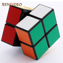 2017 New Frosted Magic Cube 2x2x2 Smooth neo magic Cube Professional Competition Speed Cubo Puzzle 2*2 Cube enlighten toys(China)