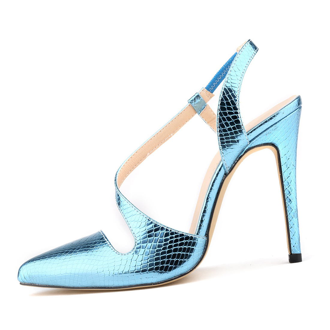 ASDS Classic Fashion Women crocodile skin Pumps summer spring Pointed Toe High Heels Sexy Leather Women Shoes sandals Pumps<br><br>Aliexpress