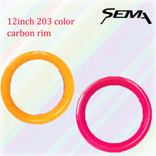 sema color carbon rim 12inch 203 balance bicycle cheap rims 30mm width 10 hole  gold white red black orange pink blue