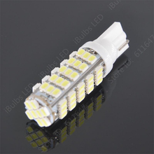 10Pcs High Quality Wholesale 68LED 68smd 1206 68 SMD LED T10 Car W5W 194 927 161 Wedge Light Lamp Bulb For License Plate bulb