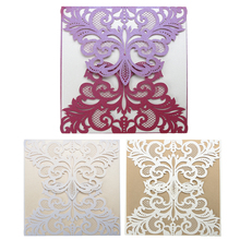 Wedding invitaions 15 cm Laser Cutting Invitation Card Place Mariage Wedding Name Cards Christmas Party Supplies