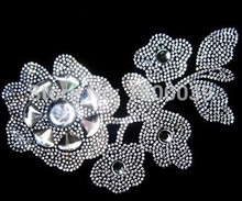Fashion pattern hotfix rhinestone transfers iron on motif For clothes korean glass rhinestones Wholesale