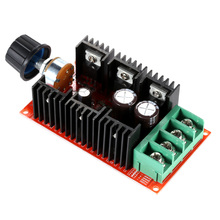 Adjustable10-50V/40A/2000W DC Motor Speed Control PWM HHO RC Motor Speed Regulator 12V 24V 36V 40V 50V Speed Adjuster