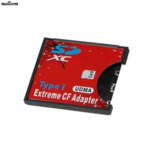 WiFi SD SDXC To CF Type I Compact Flash Memory Card Adapter Reader(China)
