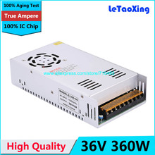 Single Output Switching power supply 36V 10A 360W Transformer 110V 220V AC To DC 36 V SMPS For Electronics Led Strip Display(China)