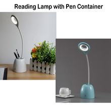 For Office  Students  Kids' gift Adjustable Reading Lamp with Pen Container Eye Protection Desk lantern