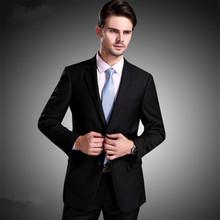 Spring and Autumn suit suits men plus fat to increase the size of the dress is the professional suit men and women with fitness(China)
