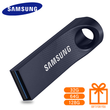 100% Original SAMSUNG USB 3.0 BAR 128 GB 64 GB 32 GB 130 M/S USB Flash Drive de Disco Mini Pen Drive Memory Stick U Disco Flashd(China)