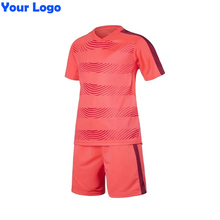 2016 17 Kids Soccer Jerseys Blank Training Set Soccer Uniform Plain Football Suits Can Customize Logo Name For Children Boy(China)