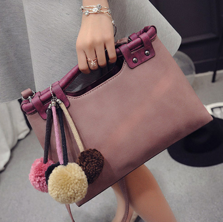 Women Fashion Leather Handbags Autumn Korean Version Shoulder Messenger Bags Famous Brand Style<br><br>Aliexpress