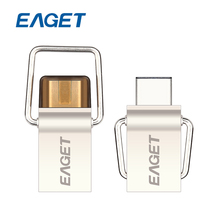 Original EAGET CU10 Type-C USB3.0 Flash Drive Micro USB OTG 32gb Pendrive Smart Phone Pen Drive 32 gb Memory Portable U Disk