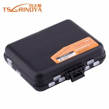 TSURINOYA Trulinoya 03 Fishing Box 11.5cm 9cm 3.5cm Double Layer Hard Plastic Fishing Tackle Storage Box Lure Accessories Box